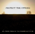 Debut Album by Protect the Citizen Released 07/10/11